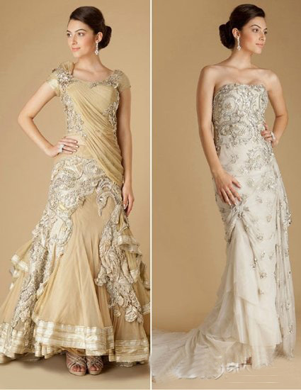 Feel the charming atmosphere of the Indian-style wedding dress by ...