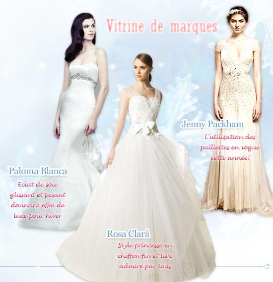 Paloma Blanca, Rosa Clara, Jenny Packham, Robes de mariée en diverses tissus, automne hiver 2012,