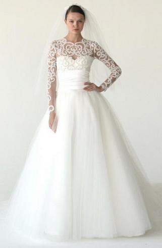 Marchesa Collection de robe de mariée 2012