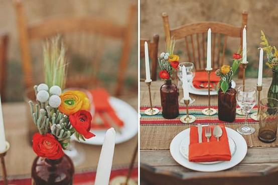 petit banquet pour mariage