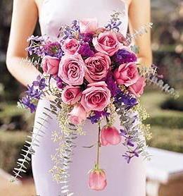 bouquet pour mariage à tri ronds