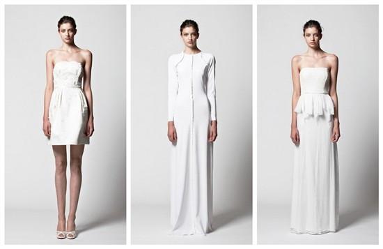 robes de soirée de styles différents dans la Collection 2013 de Kisui