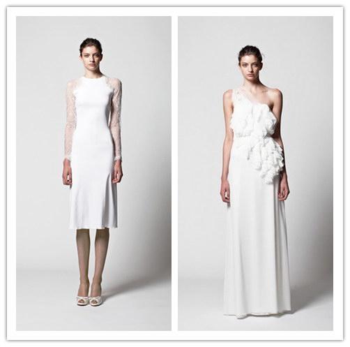 Robes de mariée blanches de Collection 2013 de Kisui