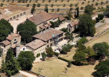 Le château de Miraval pour Brad Pitt et Angelina Jolie dans le sud de la france