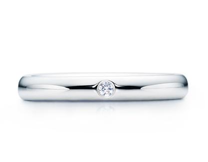 bague de mariage simple, marque Tiffany