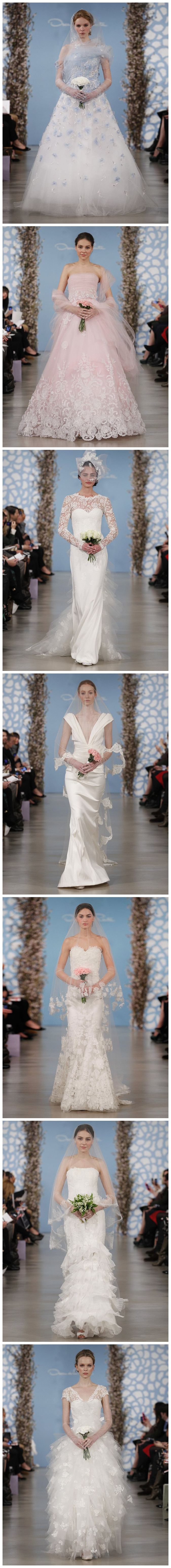Bridal Collection Spring 2014 de Oscar de la Renda
