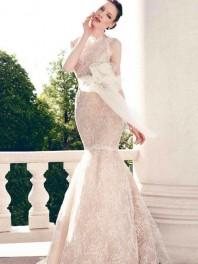 robe de mariage sirène de Yumi Katsura