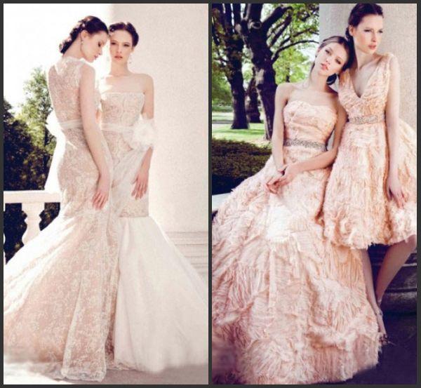 robe pastel pour mariée de Yumi Katsura 2013