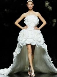 Robe de mariée Pronovias de Manuel Mota
