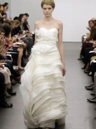 Robe ivoire de Vera Wang Fall 2013