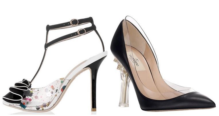 Tendances 2013 Chaussures pvc transparente- Valentino - Sophia Webster