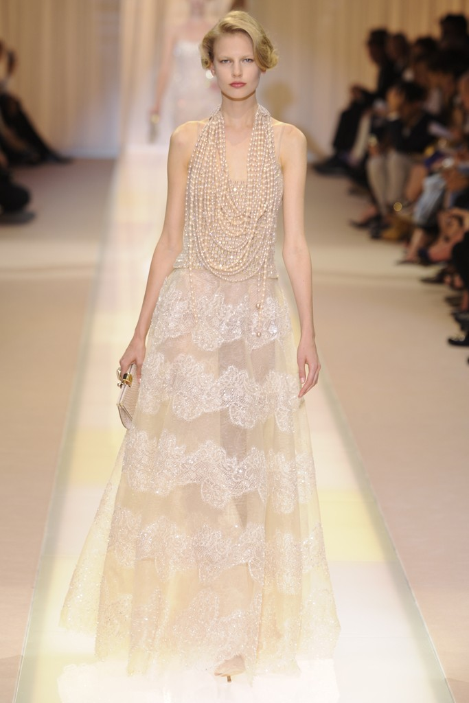 Robe de mariée vintage signée Giorgio Armani