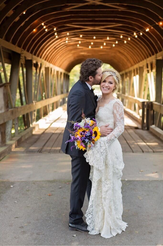Kelly Clarkson et Brandon Blackstock se sont maries