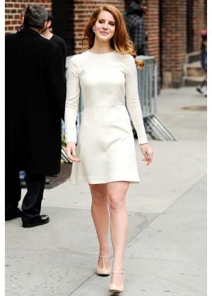 La petite robe blanche de Lana Del Rey