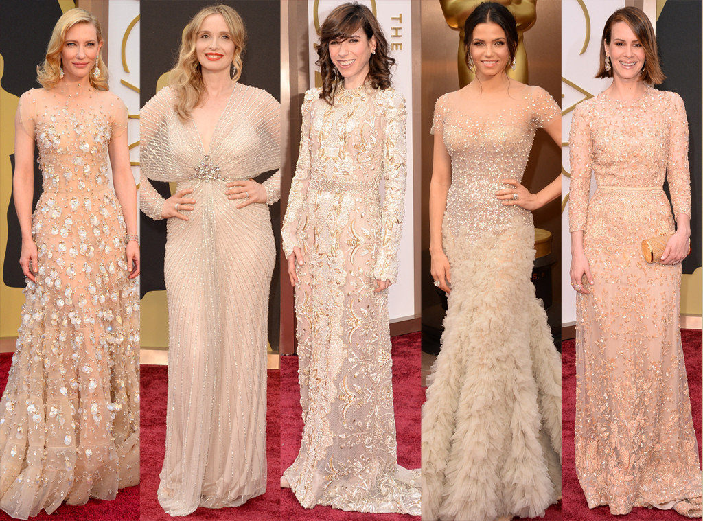 Cate Blanchett, Julie Delpy, Sally Hawkins, Jenna Dewan-Tatum et Sarah Paulson aux Oscars 2014