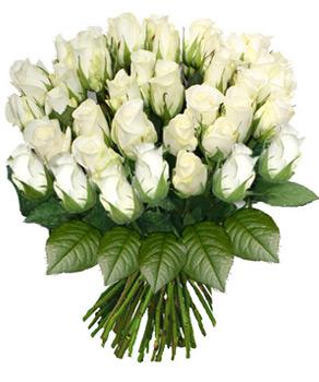 Bouquet de mariage en rose blanche qui veut dire secret