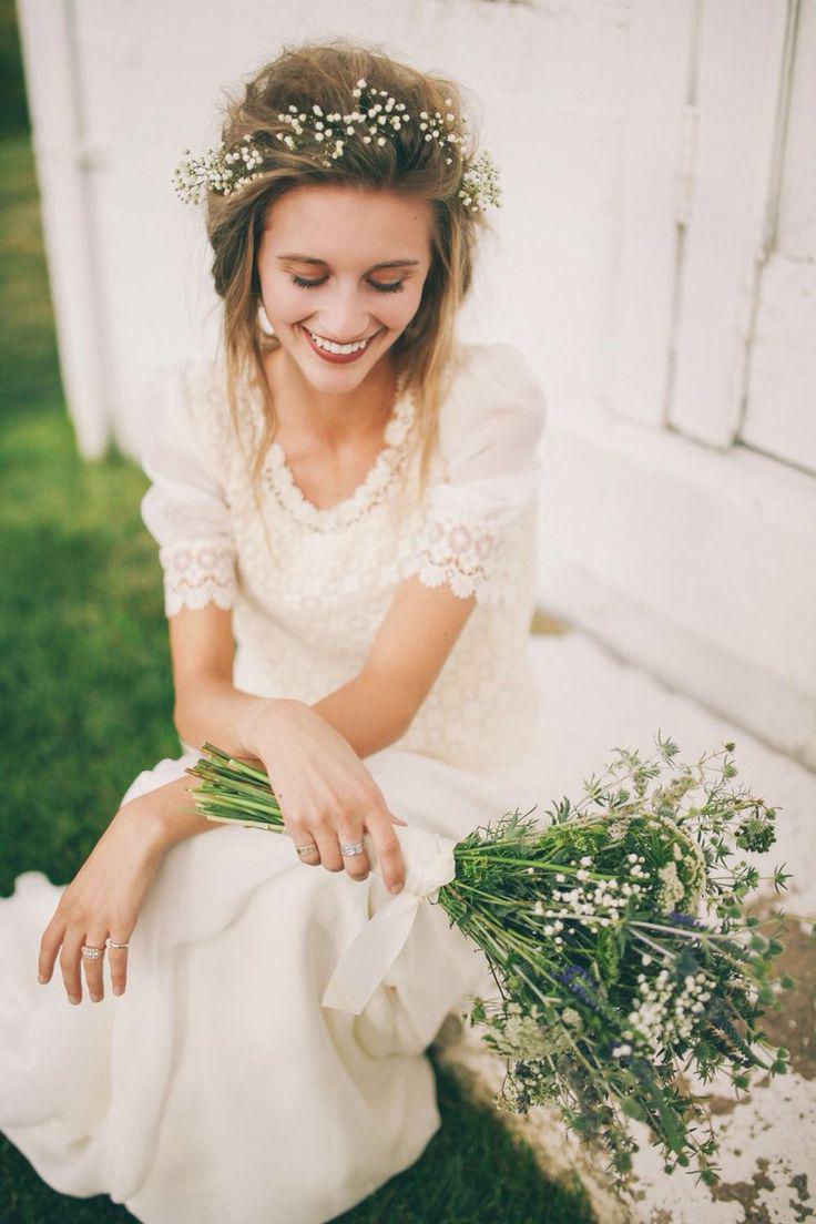 Robe de cocktail pour mariage boheme chic