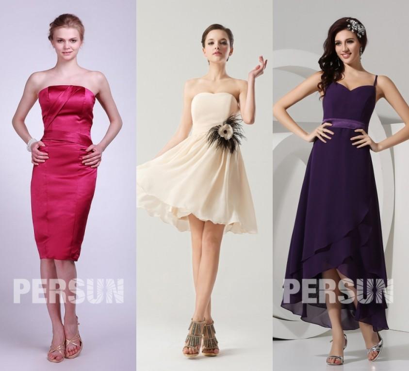 robe de soirée pas cher pour assister à un mariage