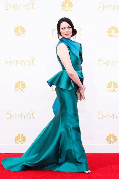 Laura Prepon était habillée pour assister à la 66e cérémonie des Primetime Emmy Awards