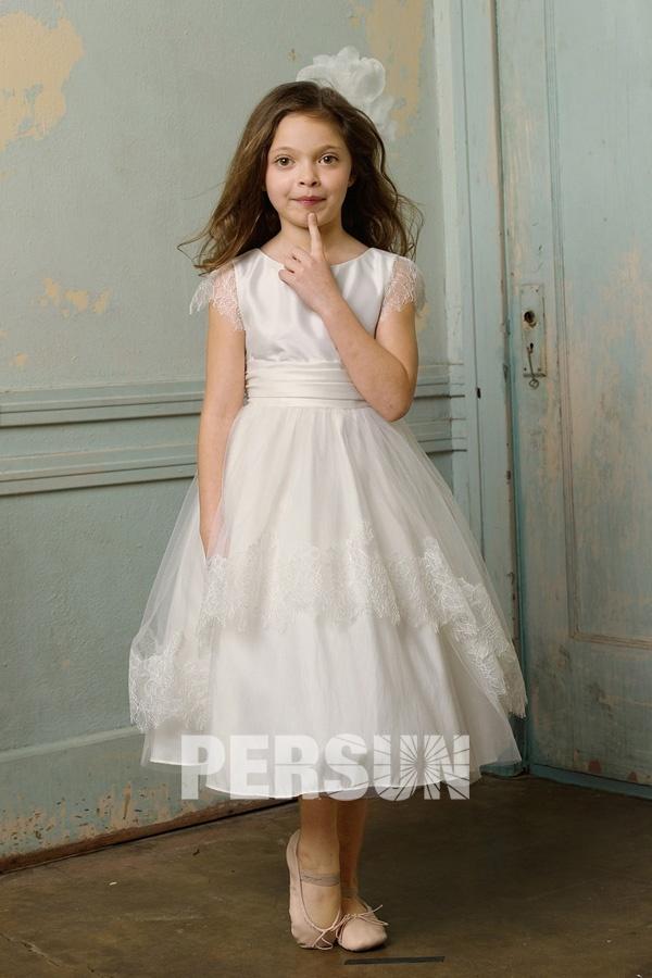 petite robe princesse pour fille d'honneur
