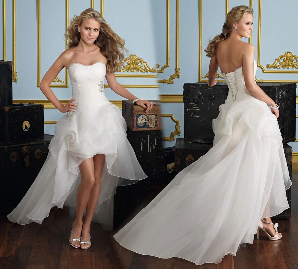 robe de mariage a bascule courte destination robe de