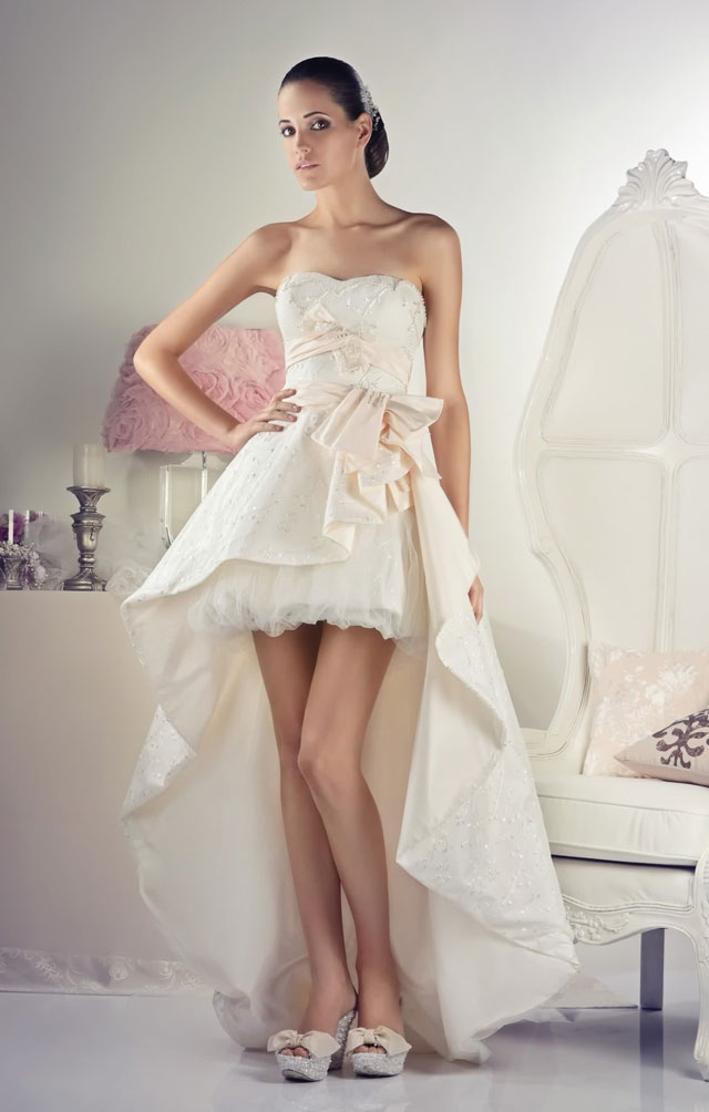 robe mariee peplum style bascule robe de mari e