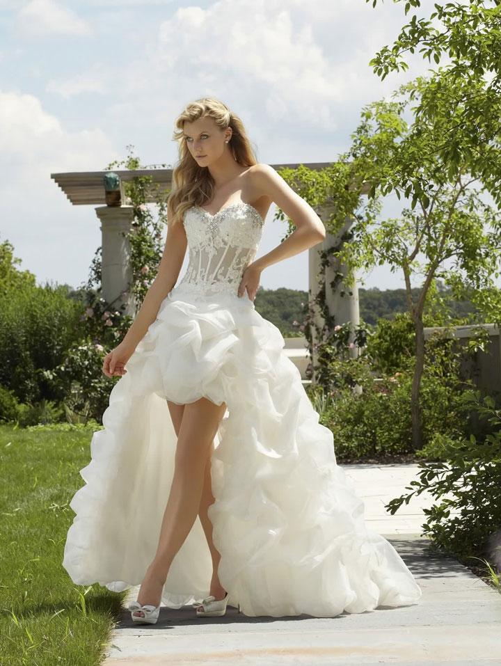robe de mariée princesse trapèze