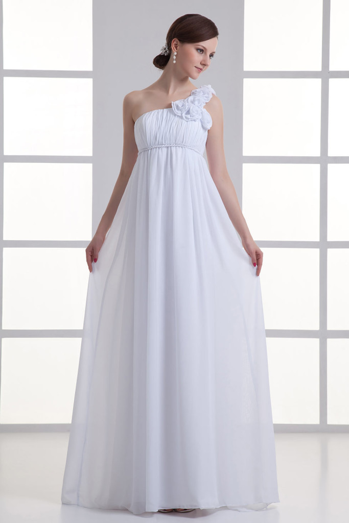 Enceinte : quel style de la robe de mariée pour des futures mamans ...