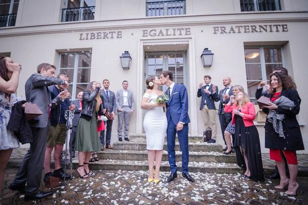 un mariage civil