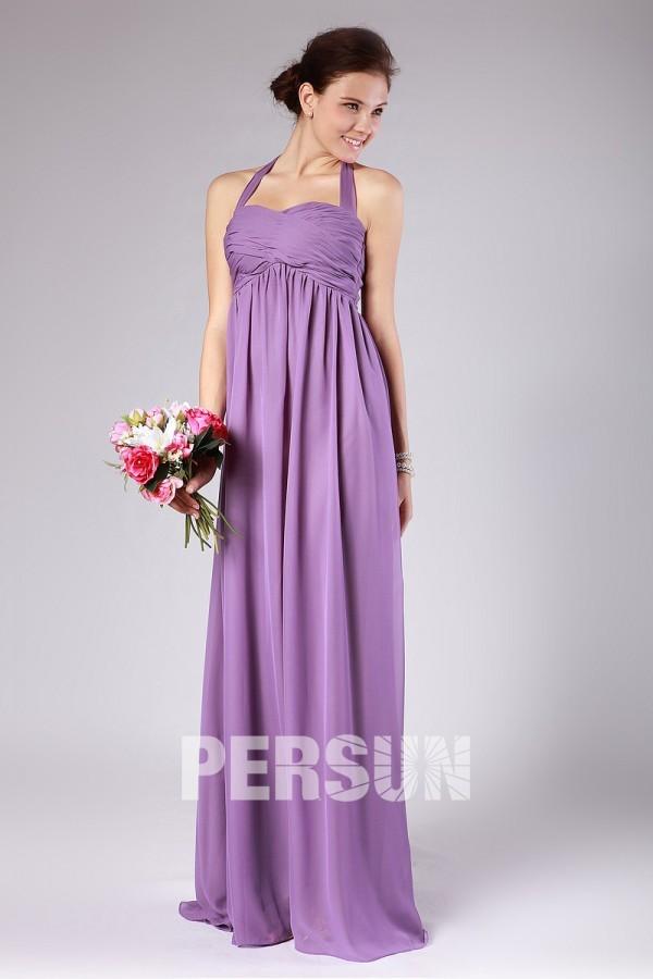 robe-demoiselle-dhonneur-longue-violette