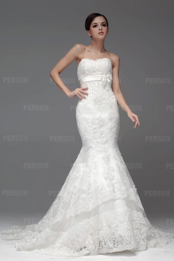 robe-de-mariage-sirene-ceinturee