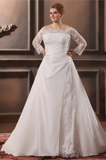 robe-de-mariee-grande-taille-vintage
