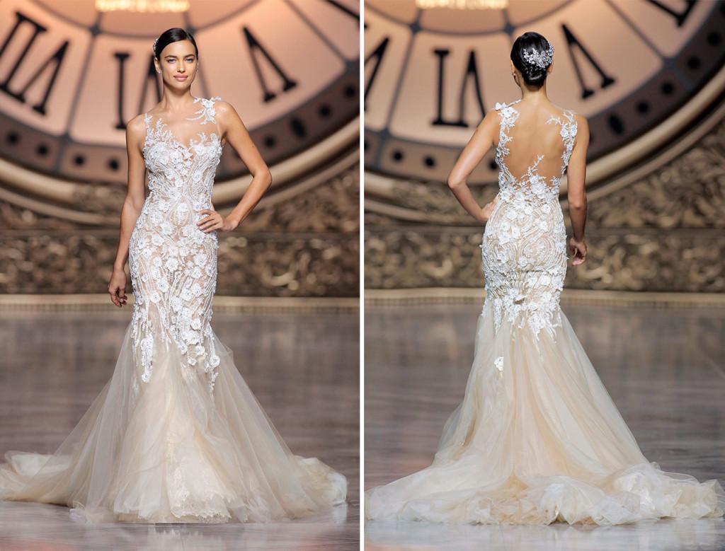 4 mod les chics pour la robe de mari e 2016 robe de mari e demoiselle d 39 honneur - Robe de mariee transparente ...