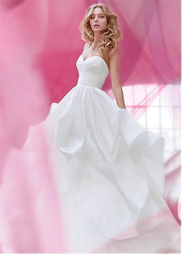 robe-mariee-princesse-taffetas