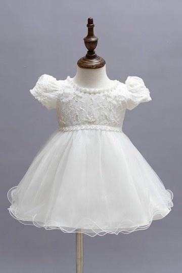 robe cortège fille tutu à mancheron