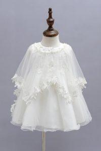 robe de baptême brodée