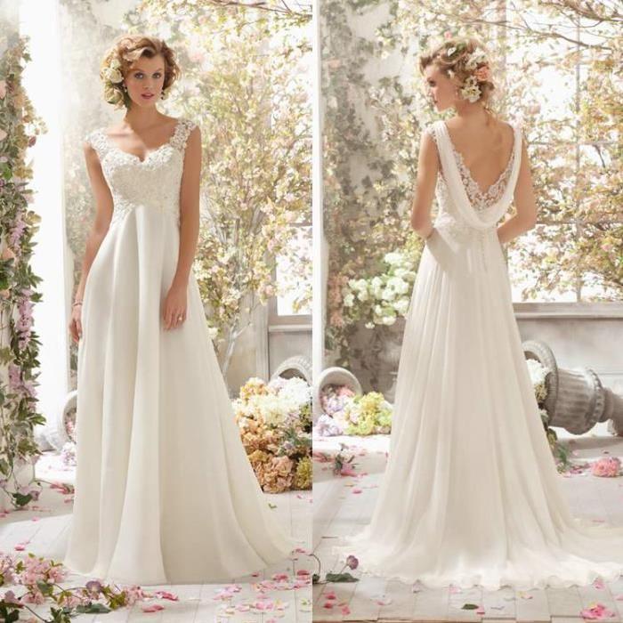 robe-de-mariage-en-dentelle-blanche