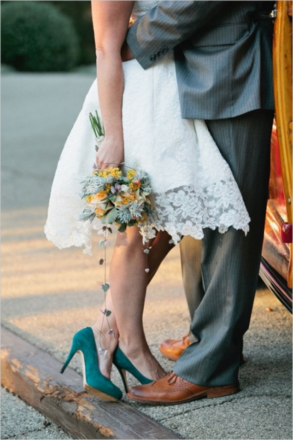 Chaussure-turquoise-de-mariage