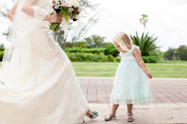 adorable chaussure mariée femme & enfant