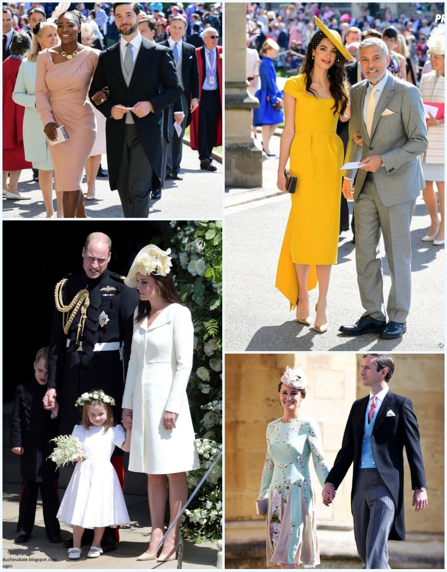 robes de soirée pour mariage du prince Harry et Meghan