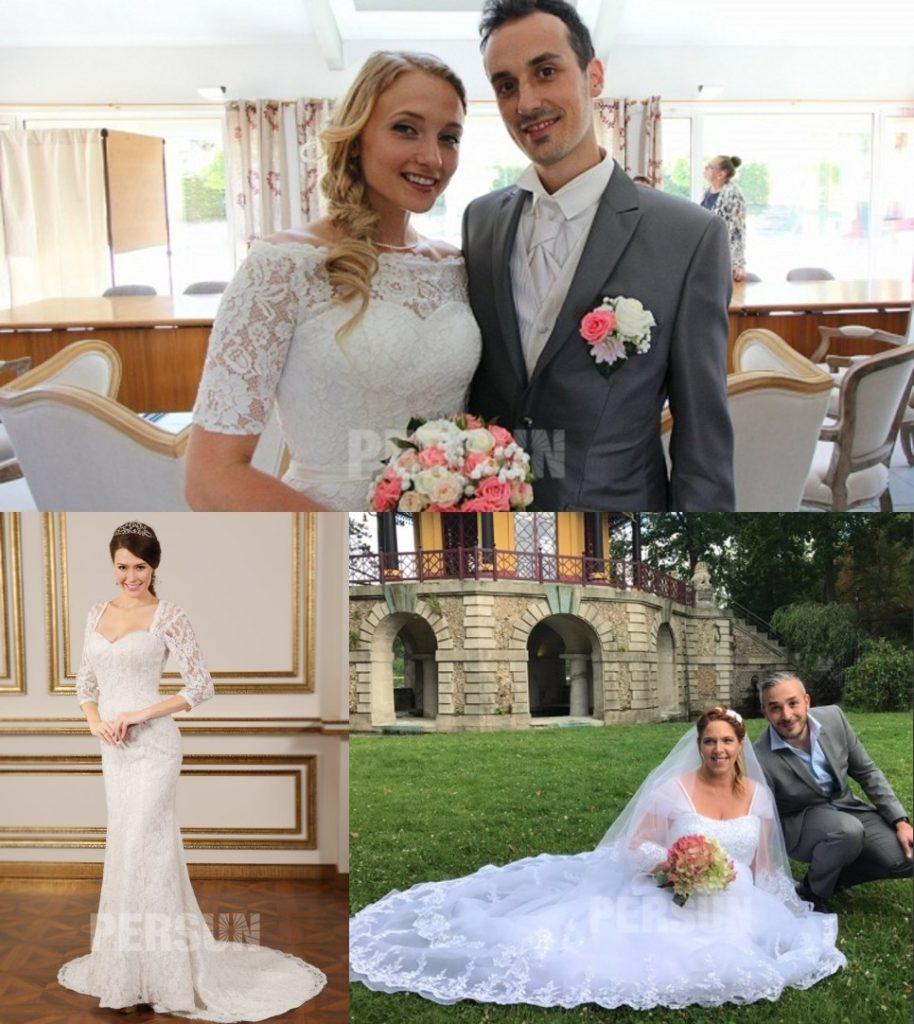 robes de mariée en dentelle