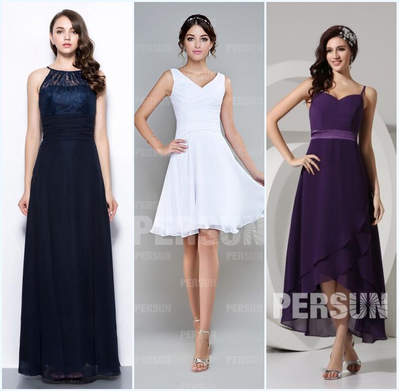 robes cérémonie mariage pour invités