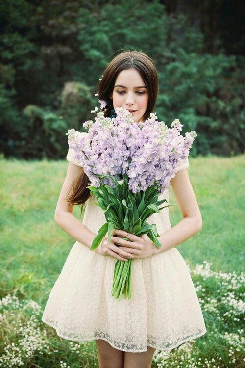 bouquet de mariage de longues tiges