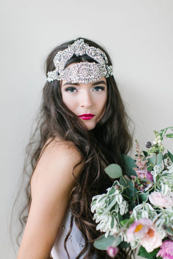 couronne de bijoux pour mariée