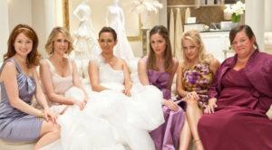 choisir robe de mariée avec des amies