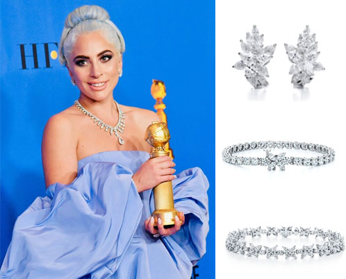 bijoux Tiffany & Co de Lady Gaga