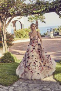 robe de mairée florale princesse
