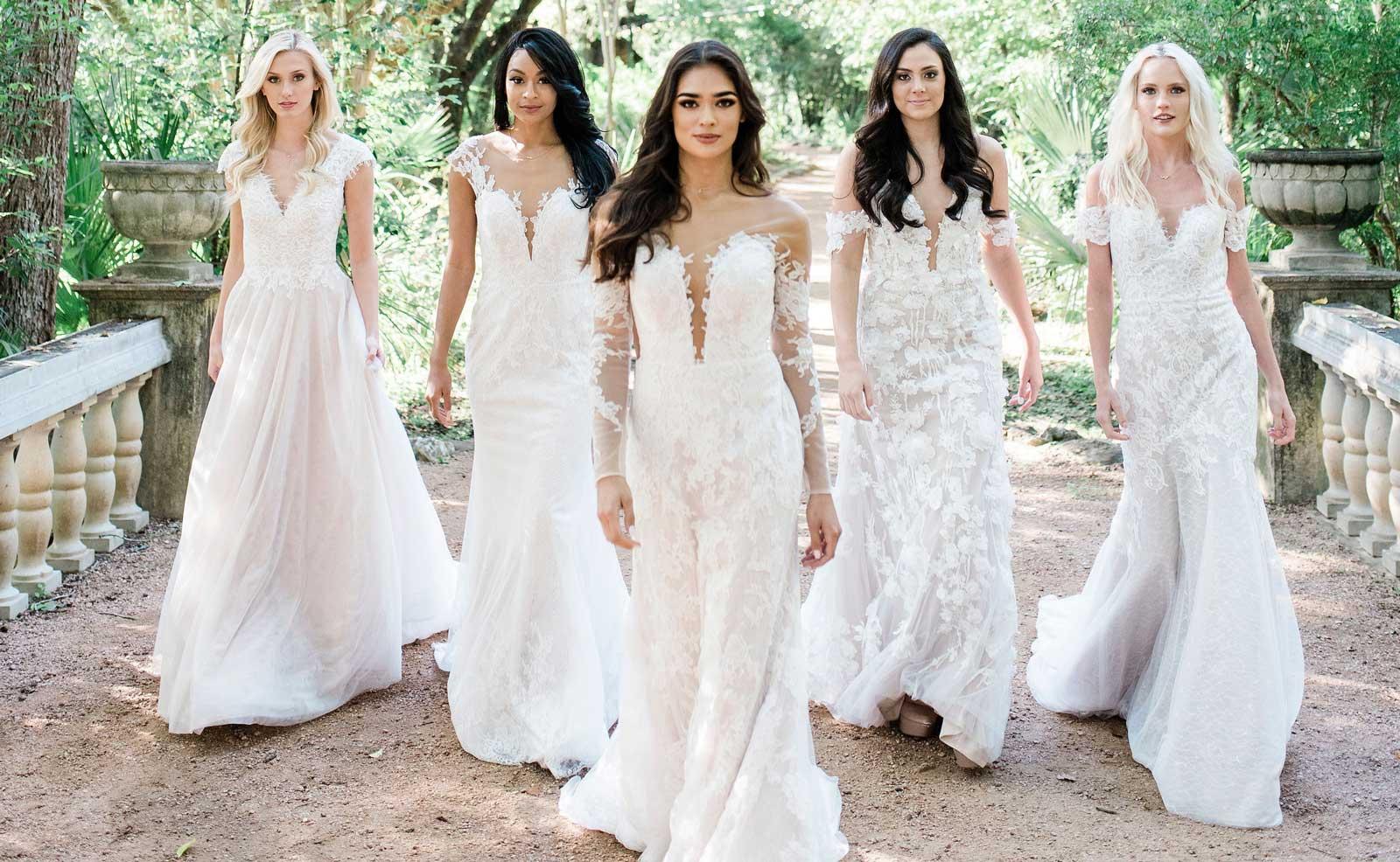 romatique robes de mariée tendance 2019