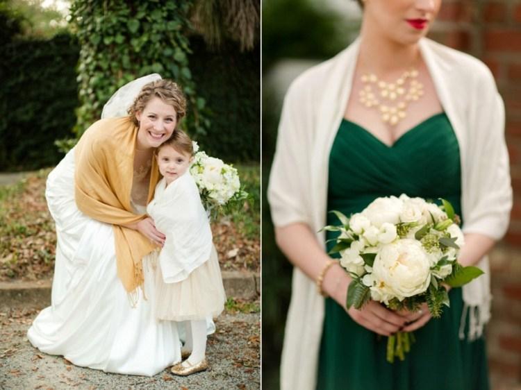 étole pour mariée et invité mariage