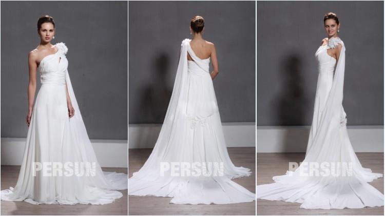 54b835af086 robe de mariée asymétrique avec voilage
